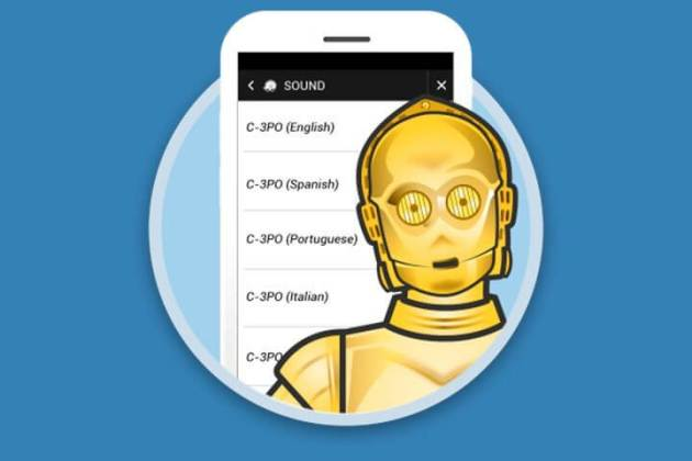 Waze star wars android name