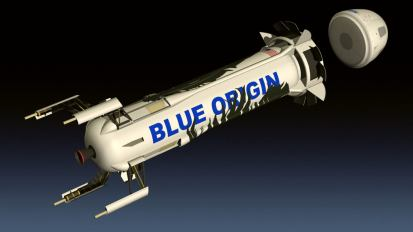 New Shepard da Blue Origin