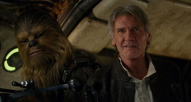 """han solo e chewie - Crítica: """"Star Wars: O despertar da Força"""" é o filme mais honesto da saga até agora"""