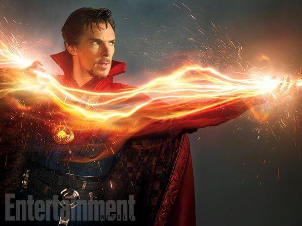 Essa é a primeira imagem de Benedict Cumberbatch como Doutor Estranho filmes 2016