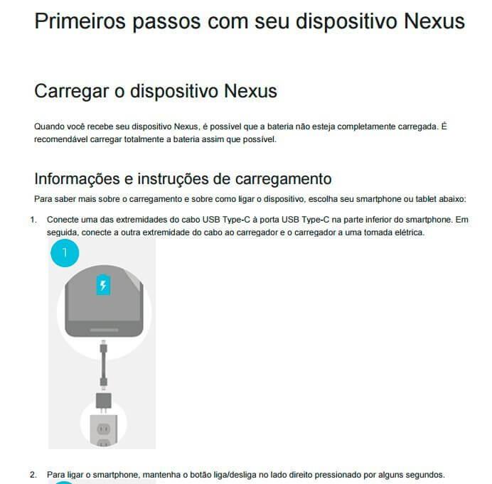 manual pt br nexus 6p 1 - Ele virá: Nexus 6P é homologado pela Anatel