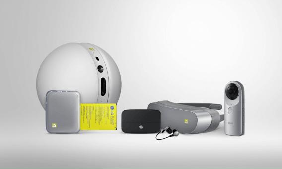 LG G5 e seus amigos