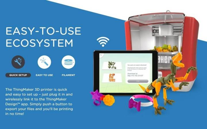 smt mattel p1 720x450 - Mattel quer tornar impressoras 3D em diversão pra família