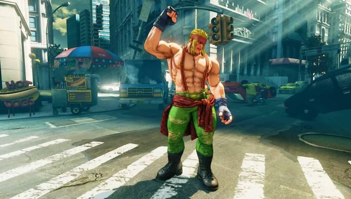 Alex-Street Fighter V