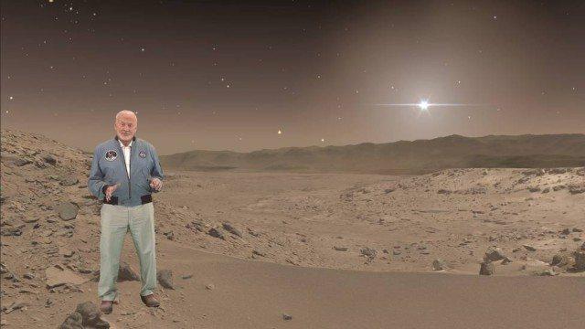 buzz aldrin passeio virtual marte hololens - NASA e Microsoft levarão o público à Marte com HoloLens