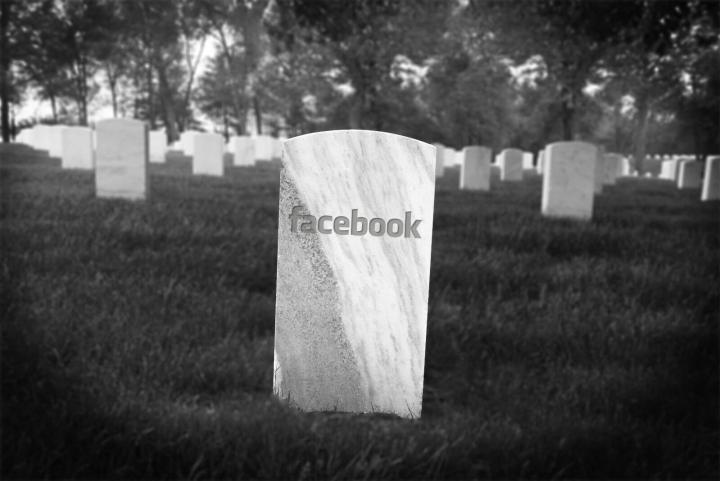 Facebook será um cemitério virtual