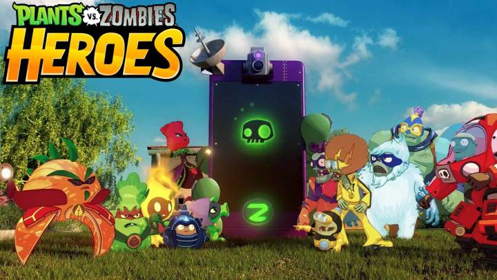 plants vs zombies heroes 720x405 - Plants vs Zombies Heroes chegou para dispositivos iOS e Android