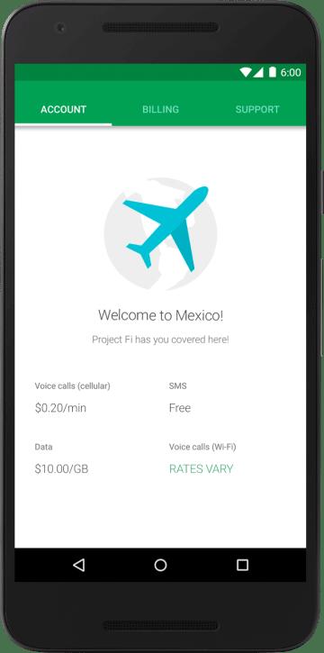 welcome to mexico updated rates e1457451583195 - Project Fi - Agora é possível se cadastrar sem convite