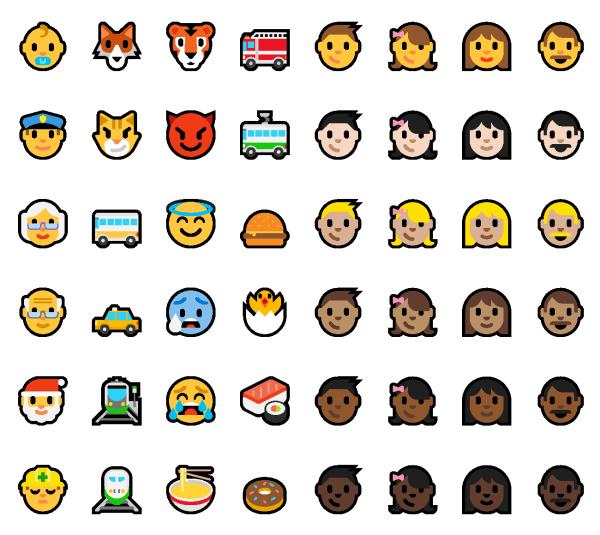 "emoji highlights v2 page 02 2 720x642 - Confira as novidades do Windows 10 ""Anniversary Update"""