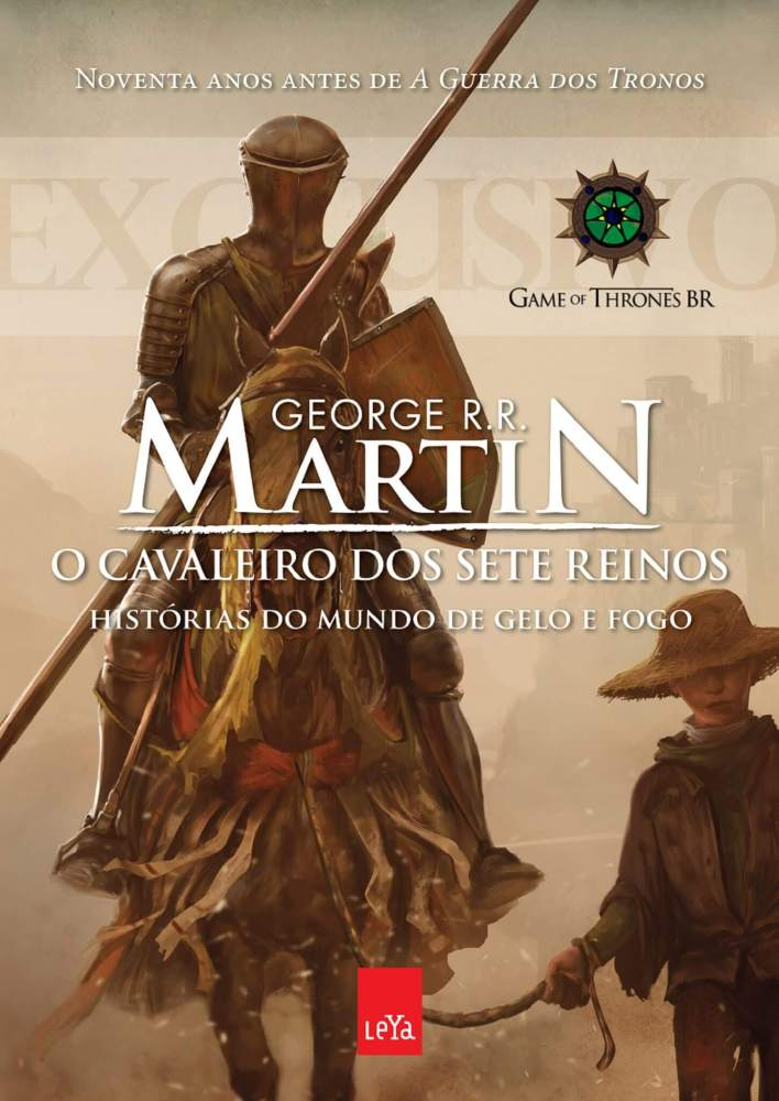 """leya cover grrm o cavaleiro dos sete reinos estudos 009 cover front 1a capa 2 1 708x1000 - """"Game of Thrones"""" acabará em breve e seu criador já fala em fazer um spin-off"""