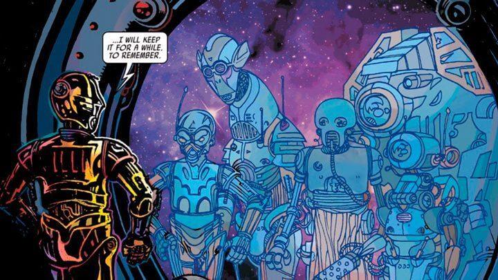 """parte hq c 3po 720x405 - Revelado o segredo do braço vermelho de C-3PO em """"Star Wars: O Despertar da Força"""""""