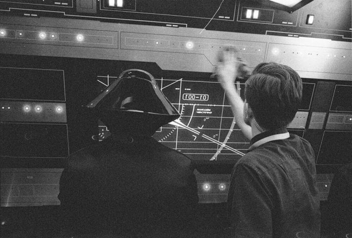 Star Wars Episódio VIII - fotos do set