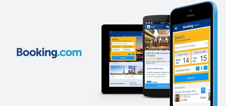 booking 720x340 - Confira os melhores aplicativos para viagens, hotéis, passagens e descontos