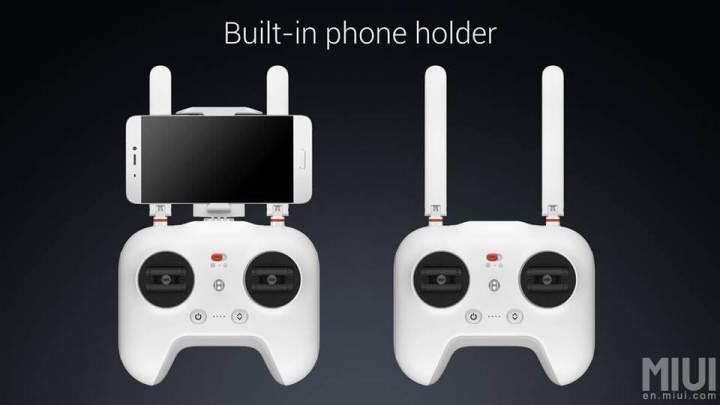 controle mi drone smartphone 720x405 - Xiaomi lança drone com câmera 4K e sistema de pouso automático
