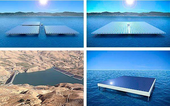 heliofloat renders - Engenheiros criaram plataformas que flutuam estáveis mesmo em mar agitado