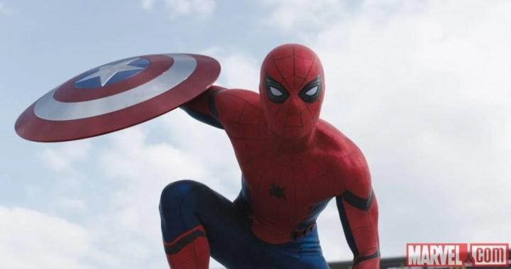 Capitão América: Guerra Civil - Homem-Aranha