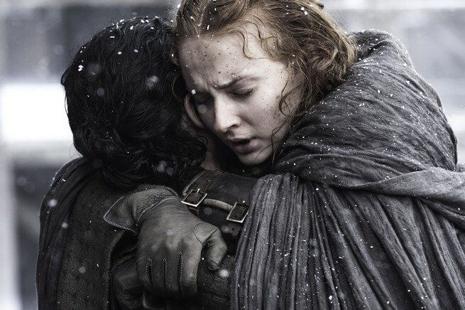 jon and sansa 1 - Game of Thrones 6x04: Gelo e Fogo em pé de guerra