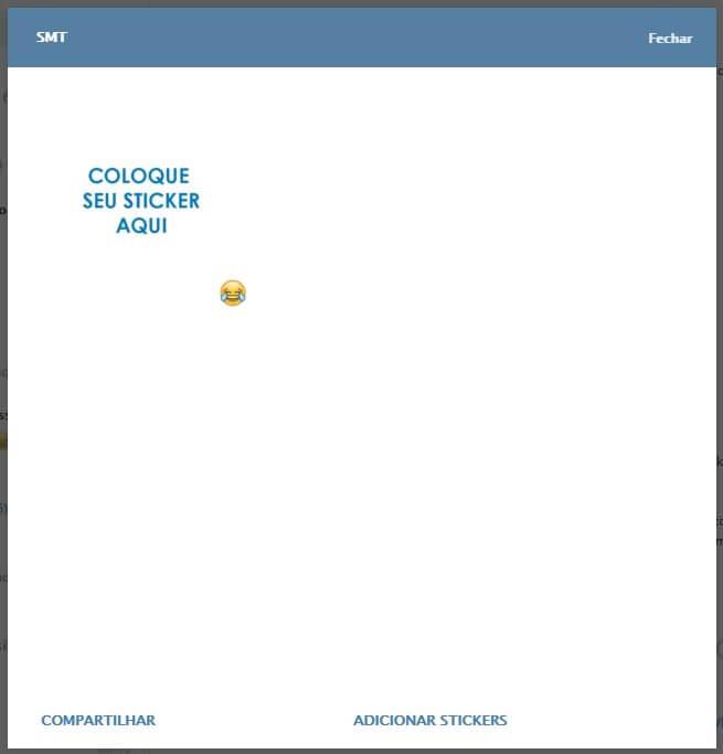 pacote smt - Tutorial: como criar e enviar seus próprios stickers no Telegram