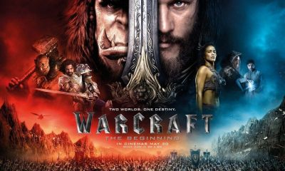 warcraft poster - Universal Pictures dará pacotes de internet para quem assistir conteúdo de Warcraft