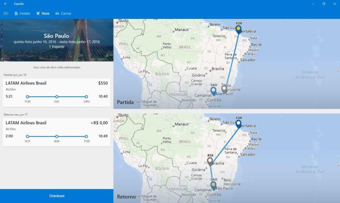 Expedia voos 720x430 - Expedia lança app universal para Windows 10