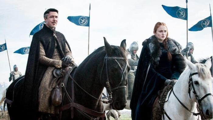Sansa e Mindinho 720x405 - Game of Thrones: 'Battle of the Bastards' foi melhor episódio da temporada