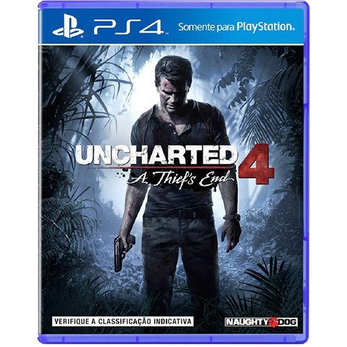 Game Uncharted 4 A Thief's End – PS4