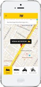 "iphone app T81 1 - T81: O ""Uber pernambucano"" chega à Fortaleza"