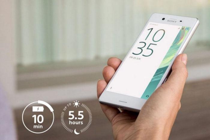smt SonyXperiaX Bateria 720x480 - Review: Sony Xperia X: Um pouco mais do mesmo