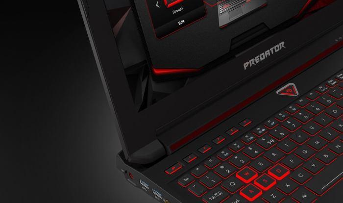 Acer linha Predator