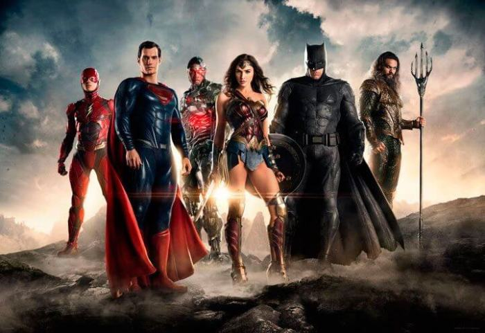 Imagem oficial do Filme da Liga da Justiça