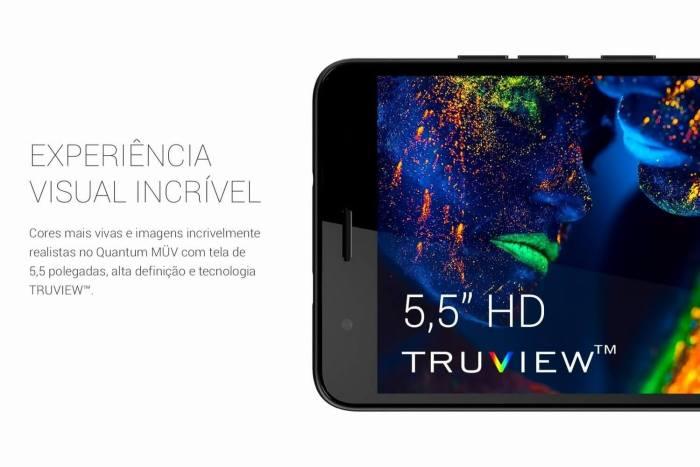 Quantum MÜV - Tela com TRUVIEW