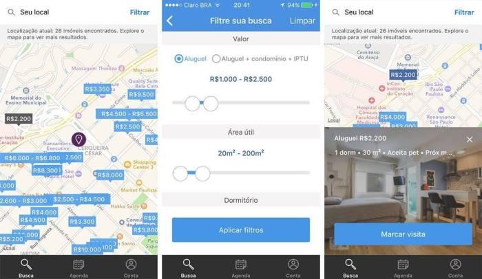 QuintoAndarappandroid 720x418 - QuintoAndar lança apps para facilitar a busca por Imóveis em Locação