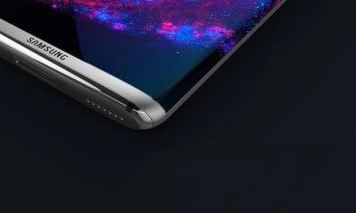 Conceito do Galaxy S8