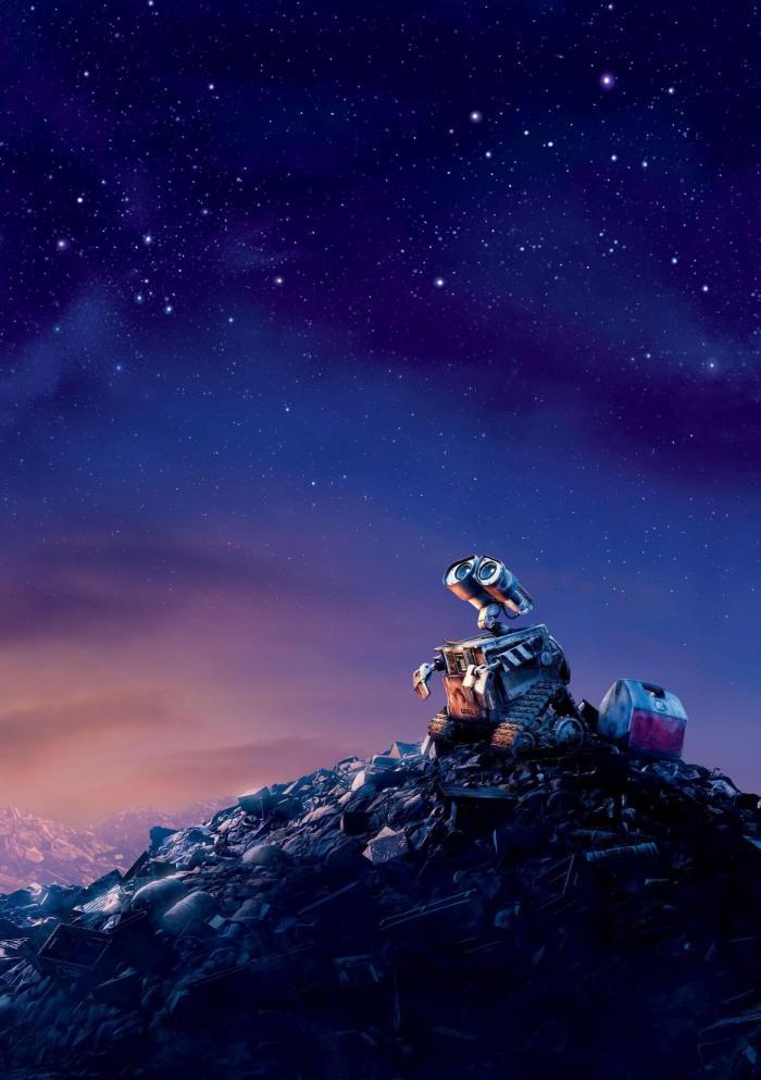 WALL E 705x1000 - Site reúne milhares de pôsteres de filmes em alta resolução e sem texto!