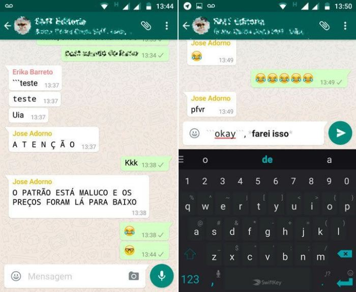 WhatsApp Mudar fonte SMT Julian 720x590 - Whatsapp: nova atualização deixa você mudar a fonte do app