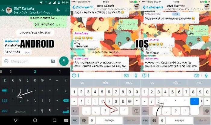 acento grave ios android 1 720x425 - Whatsapp: nova atualização deixa você mudar a fonte do app