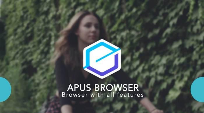 apus browser realiza pesquisas atraves da sua voz