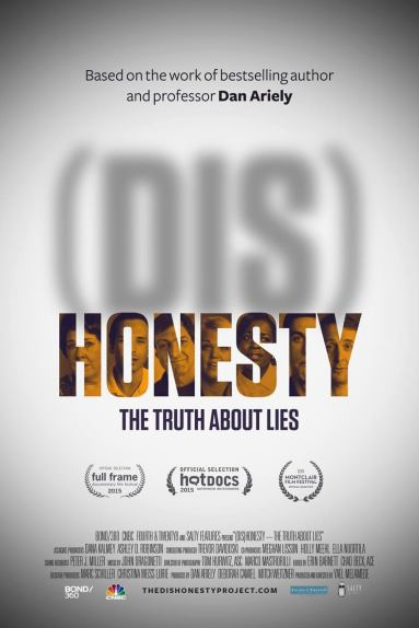 dishonest poster 667x1000 - Documentário: a ciência da (Des)Honestidade