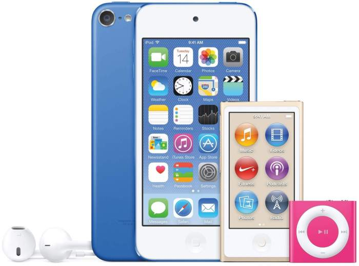 Preço dos iPods caem no Brasil