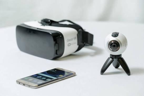 Com o Samsung Gear 360, três é melhor que um