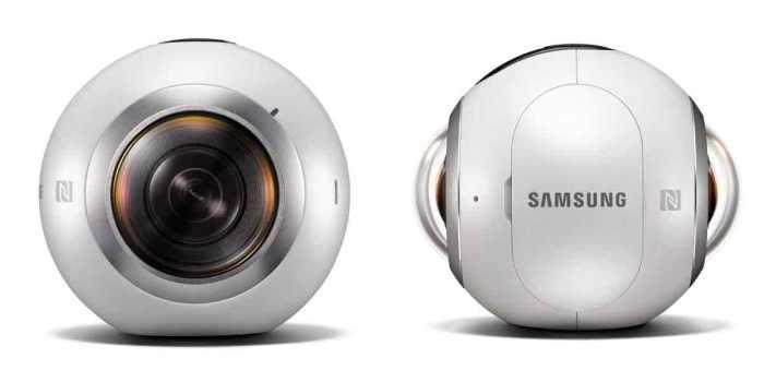 Olhe mais perto o Samsung Gear 360