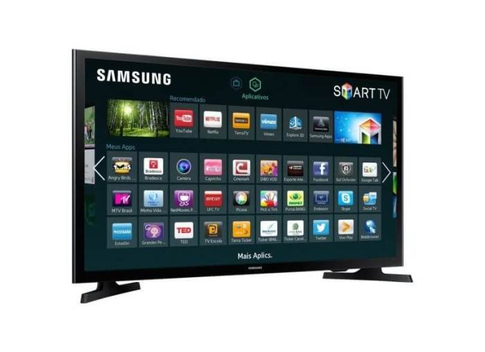smart tv tv led 32 samsung serie 4 netflix un32j4300 2 hdmi photo41770755 12 21 10 720x524 - As 10 Smart TVs mais buscadas pelos brasileiros em julho