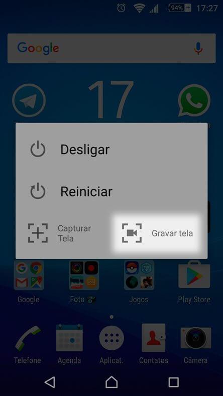 Tutorial - como gravar a tela do Xperia Z5