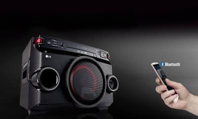 LG lança X Boom Festa