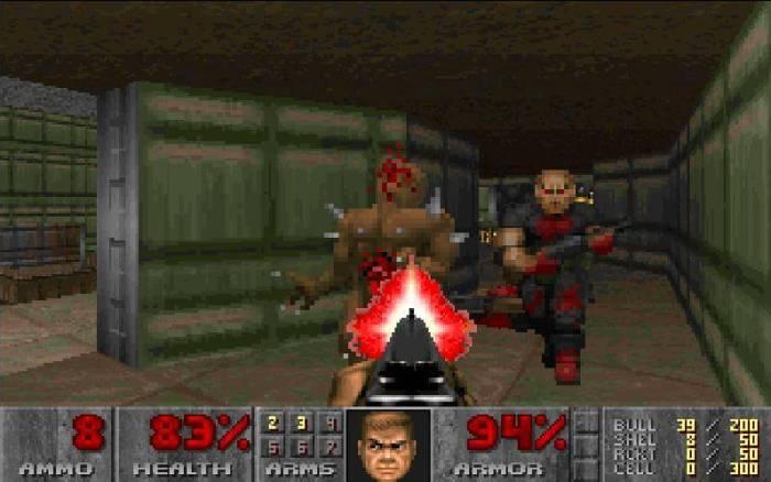 Doom 1 gameplay 720x450 - 15 Jogos clássicos para PC que você deveria conhecer e jogar