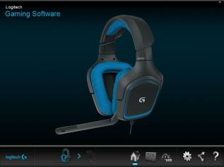 Painel Logitech Gaming