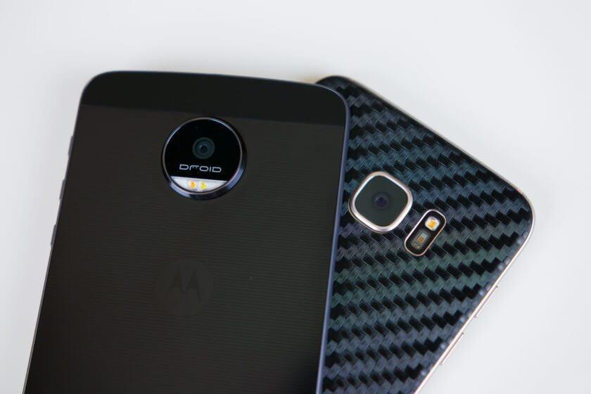 Motorola Moto Z vs Samsung Galaxy S7 Edge 1 840x560 1 - Duelo de titãs: Moto Z/Force vs. Galaxy S7/Edge