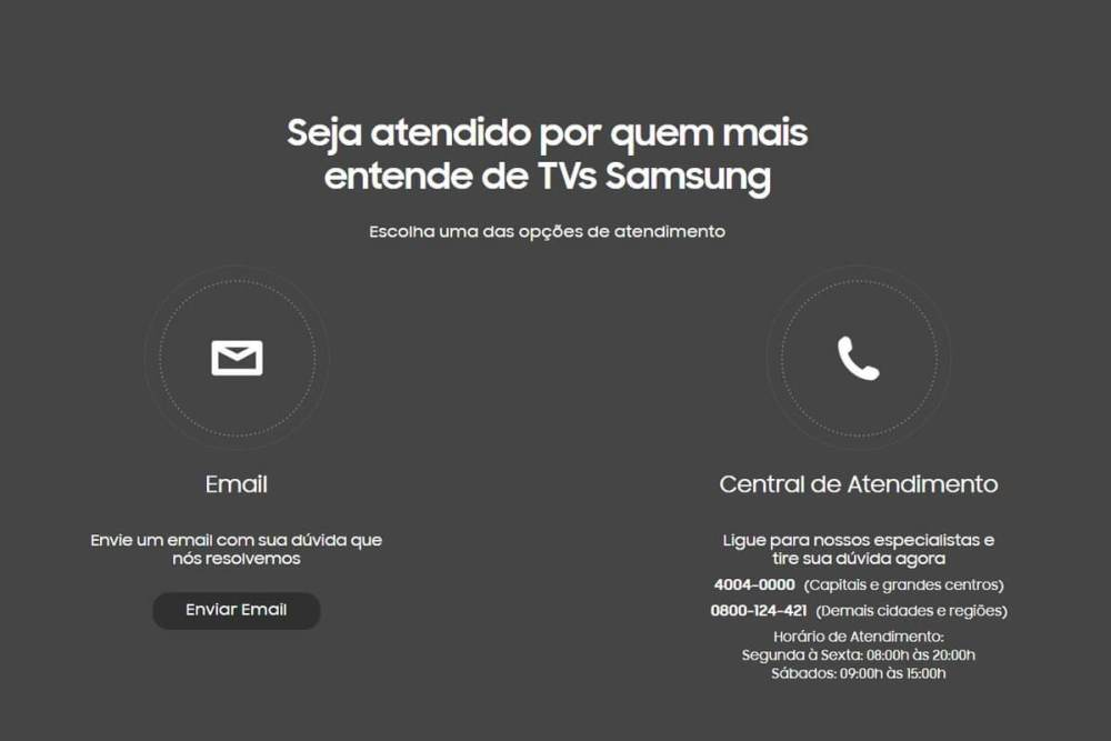 Samsung Care Serviço - Samsung Care chega ao Brasil trazendo comodidades para proprietários de TVs da marca