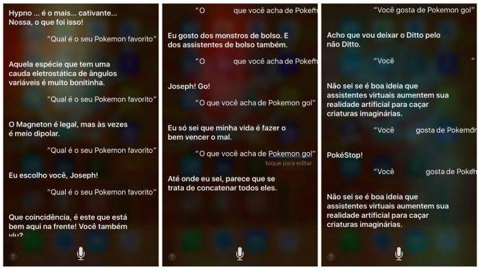 Siri, a treinadora Pokémon
