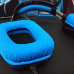 close esponja G430 - Review: Headset Logitech G430 com som Surround 7.1